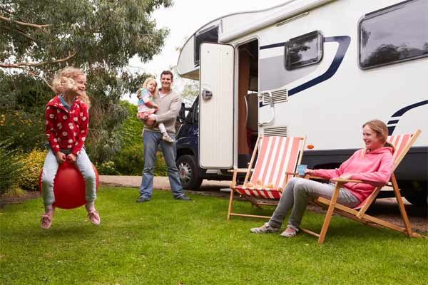 Outdoor fun and camping