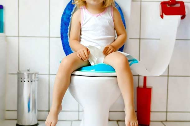 you can fix the baby potty seat