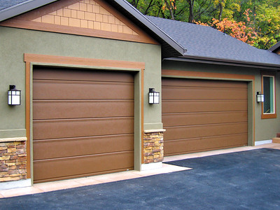The processor garage door installation