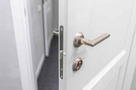An easy and effective way to open the locked door