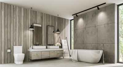 12 Art Deco Bathrooms Ideas
