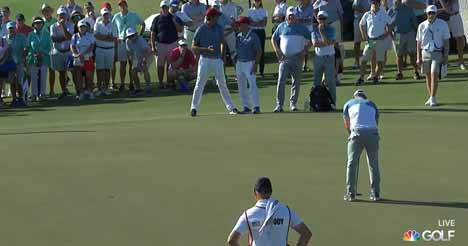 Broadcasting Channel for the US Open Golf Championship