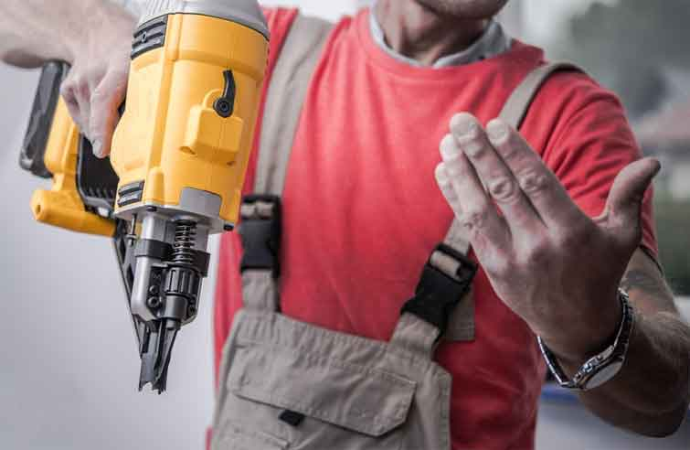 How to Remove Nail Gun Nails