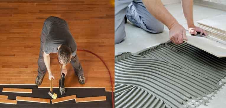 Choosing Between Hardwood Flooring and Tile