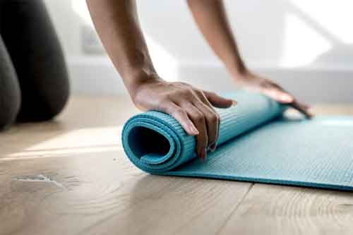 Types of Yoga Mat Material