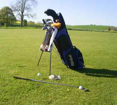 The right way to arrange your clubs